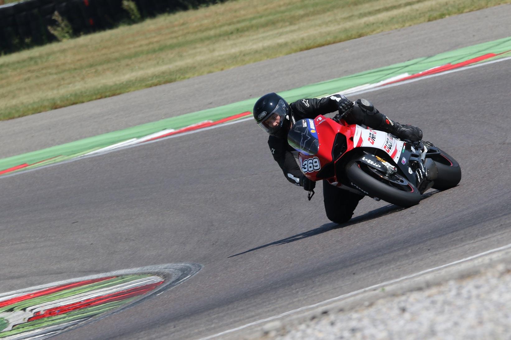 Ducati Panigale V2 Test in Franciacorta