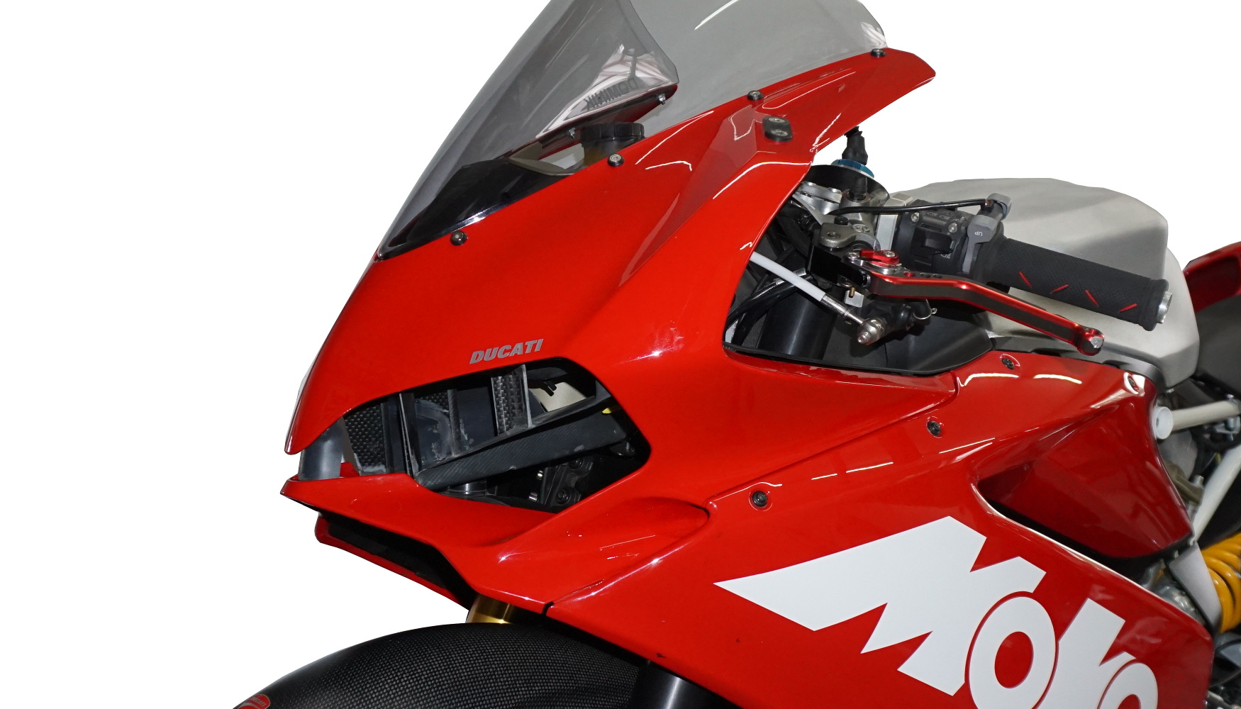 Lufteinlass Moko Ducati Panigale montiert 08.002.13 mit Verkleidung