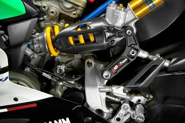 Federbeinumlenkung Moko Racing Ducati redux