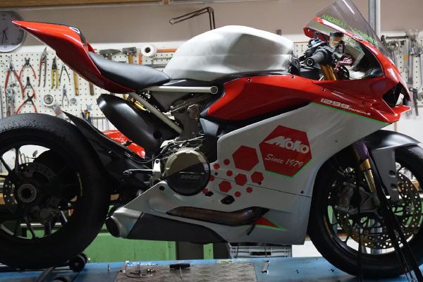 Tankvergrößerung Moko Racing Ducati redux